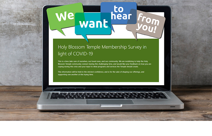 Holy Blossom Temple Membership Survey in light of COVID-19